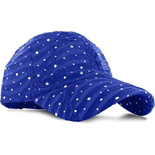 RB15_(US Seller)Women Lady Summer Hat Sun Golf Glitter Sequin Baseball Cap (Diamond Black Ice Bow compare prices)