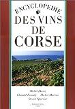echange, troc Michel Dovaz - Encyclopédie des vins de Corse