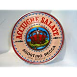 Italian Anchovies in Salt Agostino Recca, 1.76-Pound