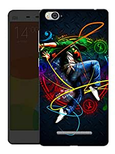 """Humor Gang Music And Dance Ife Printed Designer Mobile Back Cover For """"Xiaomi Redmi Mi 4C"""" (3D, Matte, Premium Quality Snap On Case)"""