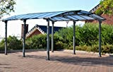 Palram Carport ARCADIA 5000Grau-Robuste Struktur für...