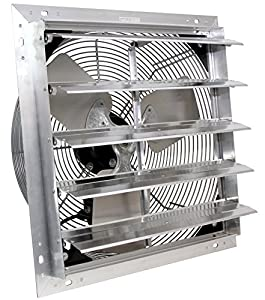 Amazon Com Ves 24 Quot Exhaust Shutter Fan Wall Mount 2