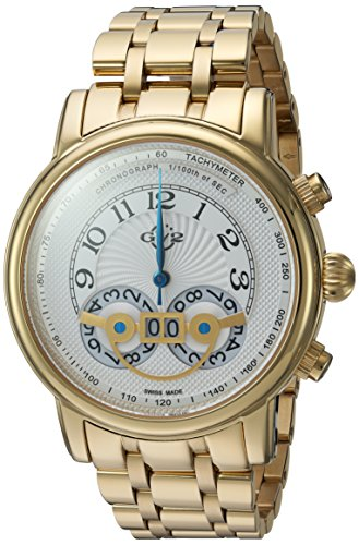 GV2-by-Gevril-Mens-Quartz-Stainless-Steel-Casual-Watch-ColorSilver-Toned-Model-8100B