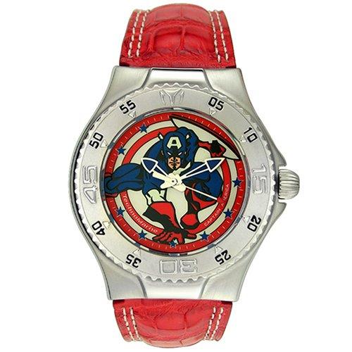 Amazon.com: TechnoMarine MV3H13 Marvel Comics Superhero Captain