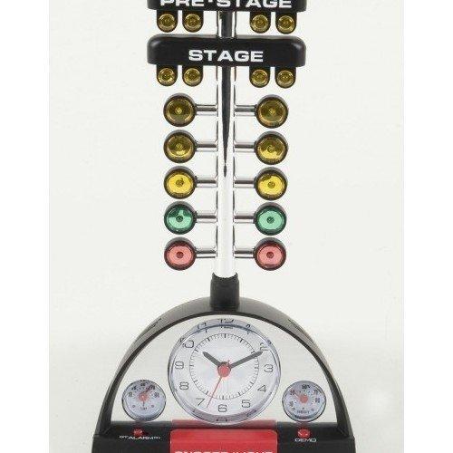 nhra-racing-alarm-clock-with-christmas-tree-by-nhra