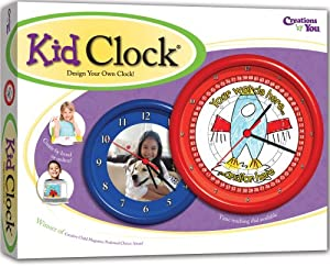 Kid Clock Design Your Own Clock Kit