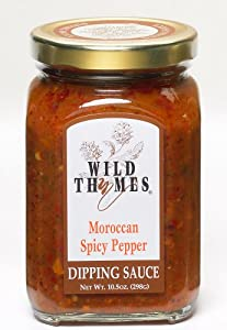 Wild Thymes Moroccan Spicy Pepper Dipping Sauce by Wild Thymes Farm, Inc
