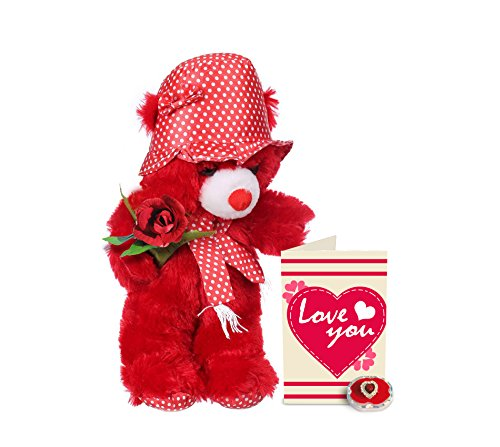 TIED RIBBONS love forever valentine gift for girl friend or wife or fiancee love teddy day and propose day Price in India | Buy TIED RIBBONS love forever ...  sc 1 st  Gludo & TIED RIBBONS love forever valentine gift for girl friend or wife or ...