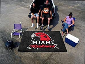 "Fan Mats 100 MU - Miami University of Ohio Redhawks 60"" x 96"" Ulti-Mat Area Rug / Mat"