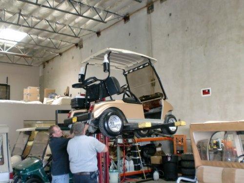 Golf cart fleet business plan