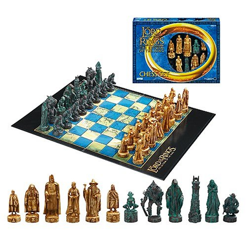 The Lord Of The Rings Chess Set The Return Of The King