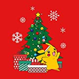 Pikachu-Pokemon-Christmas-Tree-Mens-Sweatshirt