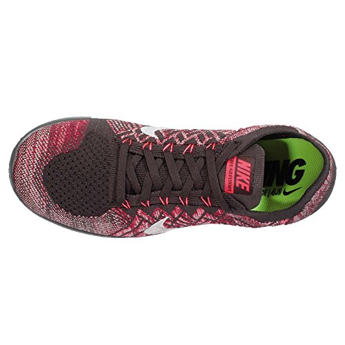 sports shoes b4928 3e02b pictures of Nike Men s Free 4.0 Flyknit, MIDNIGHT FOG BRIGHT CRIMSON-HOT  LAVA