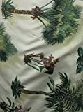Floridian Palm Tree Pattern Durable Decorative Fabric