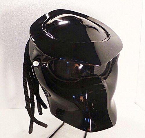 Alien Helmet, Predator Helmet, Motorcycle Helmet - costume (Handmade) - Thailand : PDT1005BK