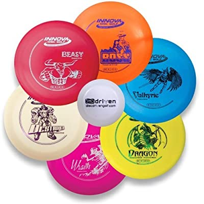 Innova Disc Golf Driver Set - 6 Disc Bundle with FREE Mini Marker Disc