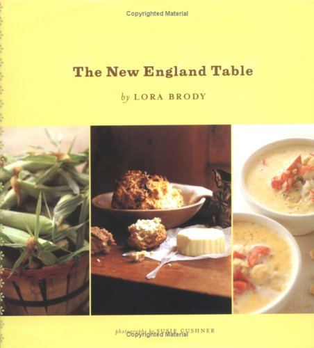 The New England Table by Lora Brody