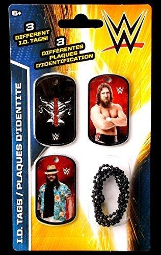 WWE Wrestlers Daniel Bryan & Bray Wyatt ID Dog Tags Series 2 - Set K - 3 Count - 1