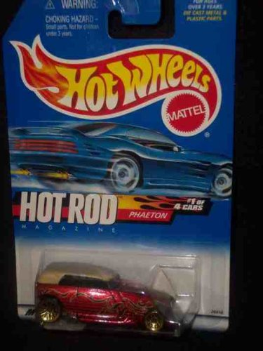 Hot Rod Magazine Series #1 Phaeton #2000-5 Condition Mattel Hot Wheels 1:64 Scale