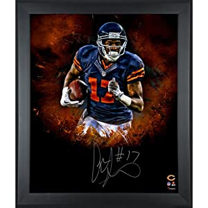 Alshon Jeffery Chicago Bears Framed Autographed 20