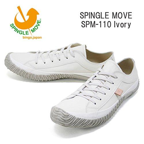 (スピングルムーヴ)SPINGLEMOVE spm110-03 スニーカー SPINGLE MOVE SPM-110/ Ivory LL27.5cm Ivory