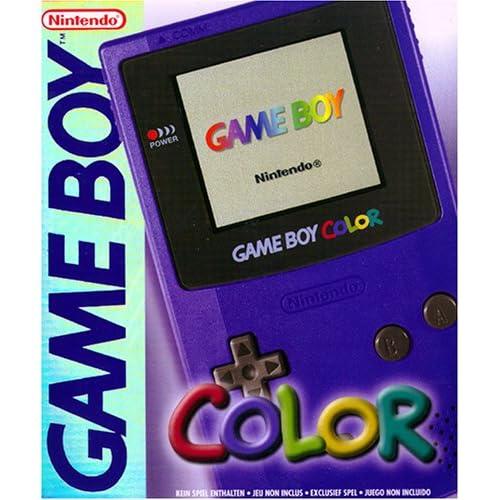Game Boy   Gerät Color Lila Nintendo Game Boy Color