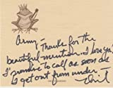 NEIL DIAMOND signed handwritten letter to Army Archerd