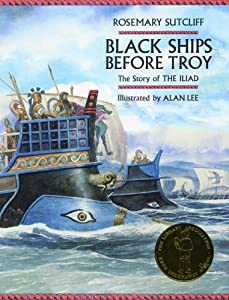 "Cover of ""Black Ships Before Troy: The St..."