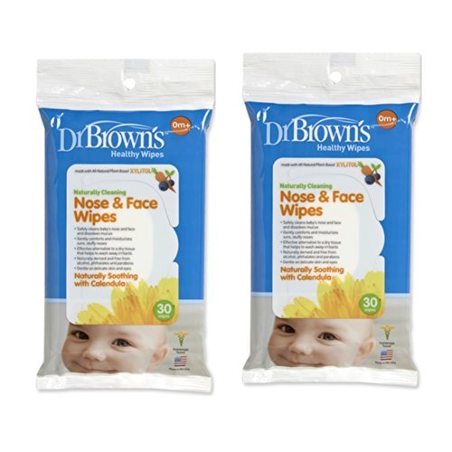 Dr. Brown's Face and Nose Wipes (2 Pack--stock up and Save) - 1