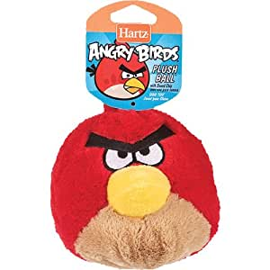 Angry Birds Plush Ball With Soundchip Dog Toy