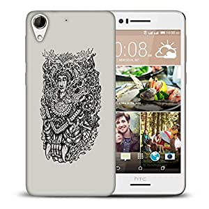 Snoogg Adivasi Face Designer Protective Back Case Cover For HTC DESIRE 728 DUAL SIM