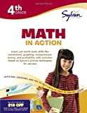 img - for Fourth Grade Math in Action (Sylvan Workbooks) (Math Workbooks) book / textbook / text book