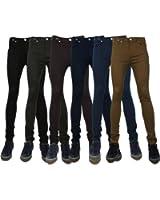 Mens Super Skinny Stretch Twill Chino Jeans