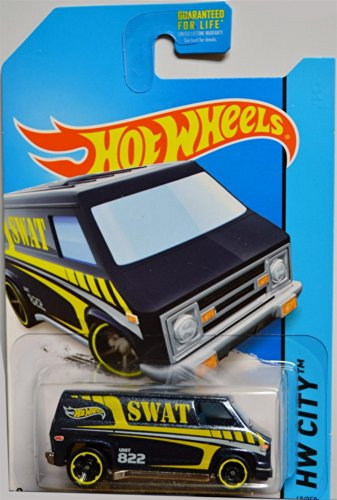 Hot Wheels - 2014 HW City 49/250 - HW Rescue - Super Van - 1
