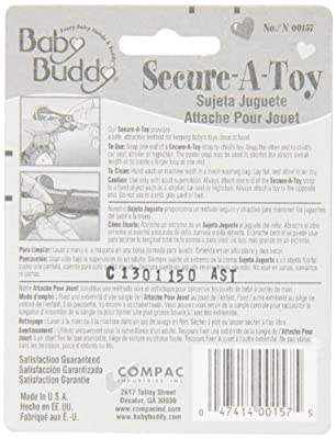 Baby Buddy 2 Pack Secure-A-Toy by Baby Buddy that we recomend individually.