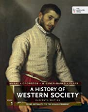 A History of Western Society, Volume I: 1