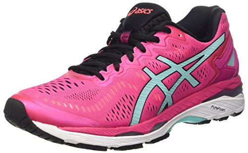 asics-gel-kayano-23-womens-running-shoes-multicolor-sport-pink-aruba-blue-flash-coral-65-uk
