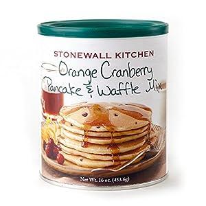 Stonewall Kitchen Orange Cranberry Pancake and Waffle Mix, 16 Ounce