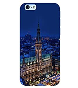 PrintDhaba SUPER CITY D-6466 Back Case Cover for APPLE IPHONE 6 (Multi-Coloured)
