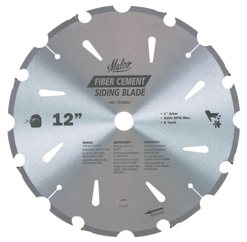 Circular Saw Blades Malco Fccb12 12 Inch 8 Tooth Fiber