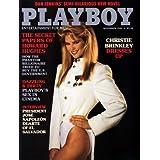 November 1984 Christie Brinkley Playboy magazine