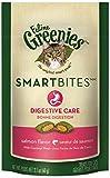 Greenies Smartbites Digestive Care Salmon Cat Treats, 2.1-Ounce