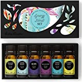 Synergy Blends- (Breathe Easier, Good Night, Hope, Relaxation, Stress Relief & Sunshine Spice) Top 6 Basic Sampler Pack Pure Therapeutic Grade Essential Oil Gift Set- 6/10 ml