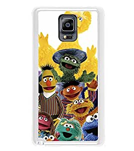 ifasho Cartoon Soft face many cartoons characters Back Case Cover for Samsung Galaxy Note 3