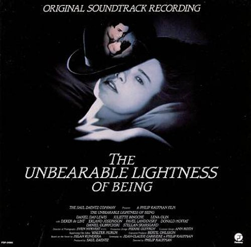 The Unbearable Lightness Of Being Cd Covers