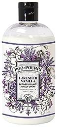 Poo-Pourri Before-You-Go Toilet Spray 16-Ounce Refill Bottle, Lavender Vanilla + Free 1oz Refillable Bottle