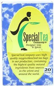 Special Tea Gourmet Black Tea Bags, Creamy Earl Grey, 20 Count