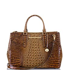 Lincoln Satchel<br>Toasted Almond Melbourne