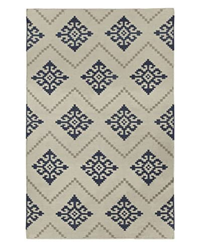 Genevieve Gorder Flakes Rectangle Flat Woven Rug