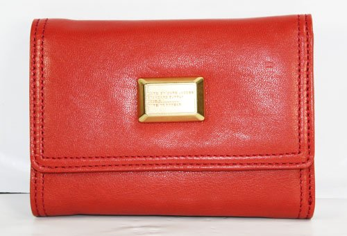 Marc Jacobs Turnlock Tri-Fold Flaptastic Wallet Dangero